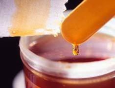 close up hot wax