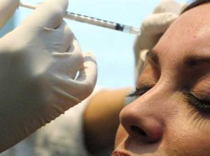 close up botox treatment