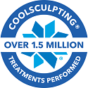 over 1.5 million treatments performed logo
