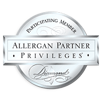 Allergan partner privileges diamond logo